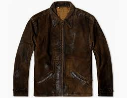 Levis Vintage Clothing 1930's Distressed Leather Jacket